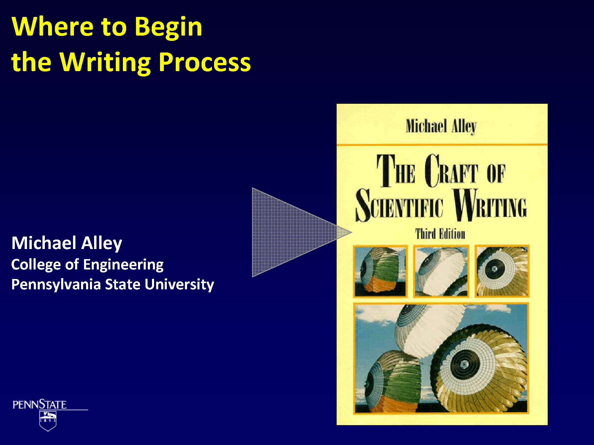 intro cover slide Technical Writing And How To Work With An Editor